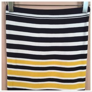 Urban Outfitters Skirts - Urban Outfitters Striped BodyCon Skirt
